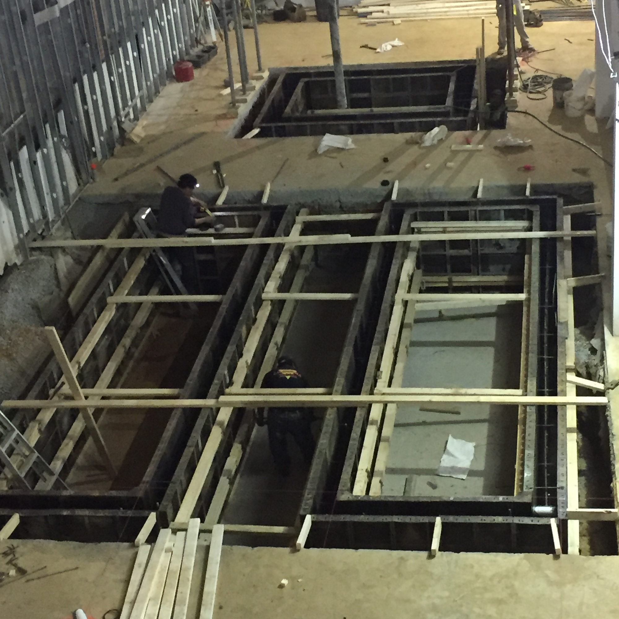 Escalator Pits and Elevator Pit Form work 2 Congressional Plaza