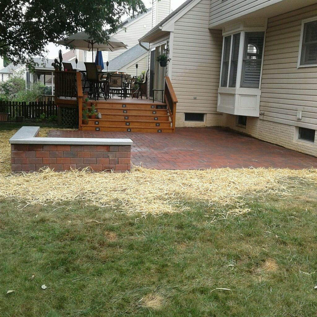 Concrete and Paver Patio